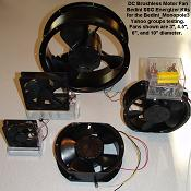 Bedini Brushless Fan Energizer Kits