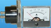 0-3A DC ANALOG WIDEVIEW PANEL METER