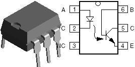 SG3524N Optocouplers HV Phototransistor